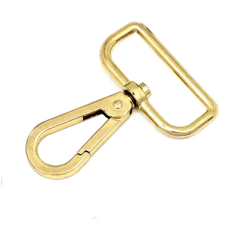 Bag accessory hook 35.3mm  trigger spring snap hook dog hook for women handbag