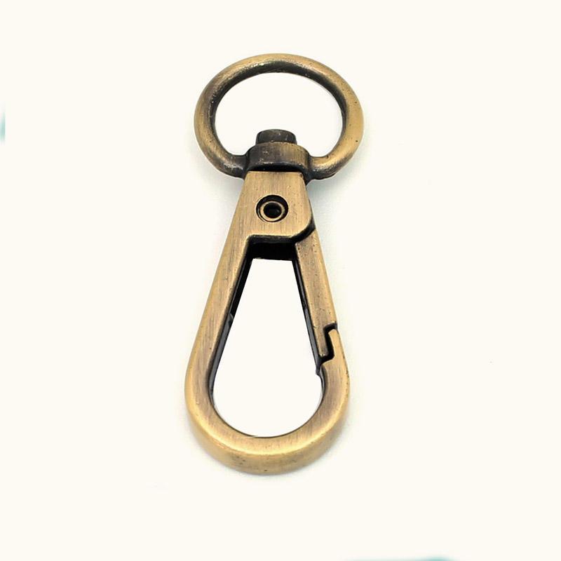 10 mm Gold Zinc alloy dog hook for handbag accessories