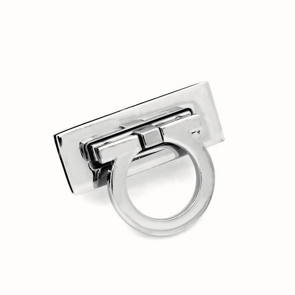 high quality zinc alloy bag accessories metalright gold bag lock