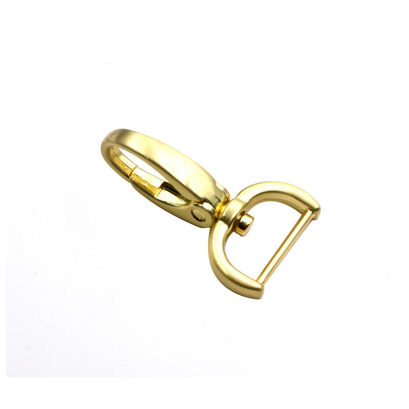 49.8 mm *15 mm  Snap hook  Nickle-free handbag metal accessories