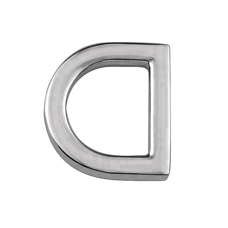 25 mm Small zinc alloy  D ring