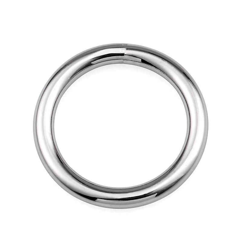 23.5 mm zinc alloy o round ring