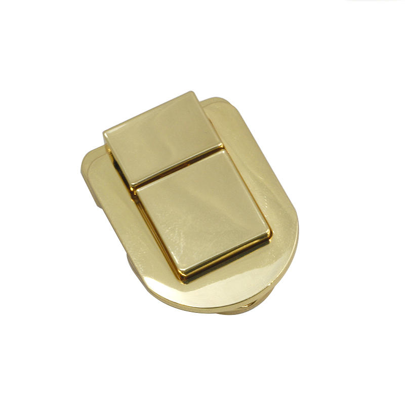 49 mm * 40 mm zinc alloy Gold handbag lock for handbag hardware accessories