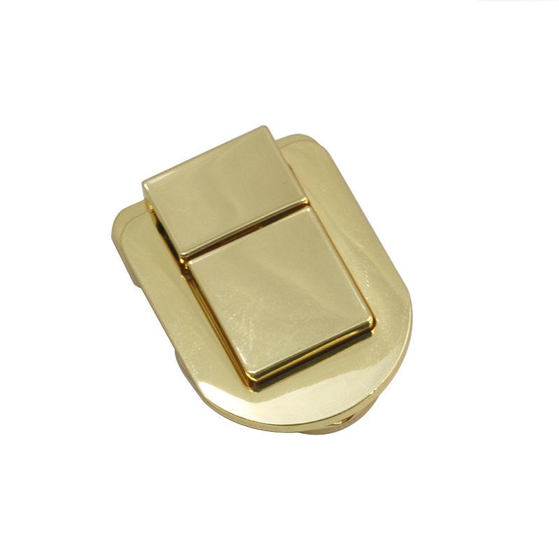 49 mm * 40 mm zinc alloy Gold handbag lock for handbag hardware accessories