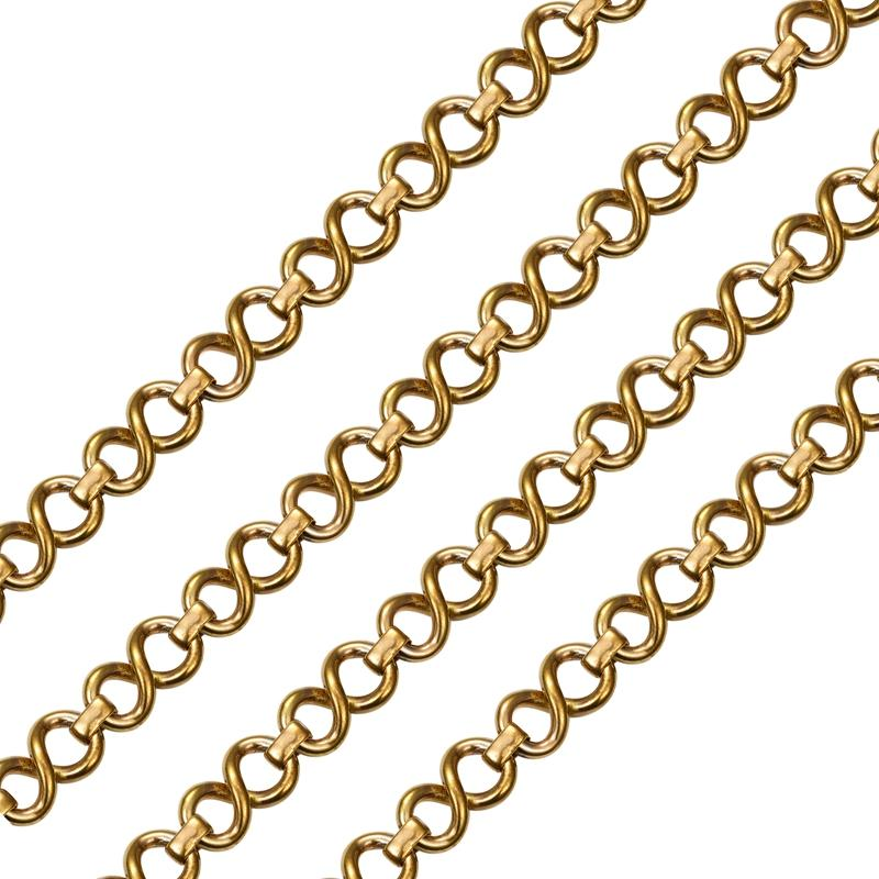 Gold chain for handbag