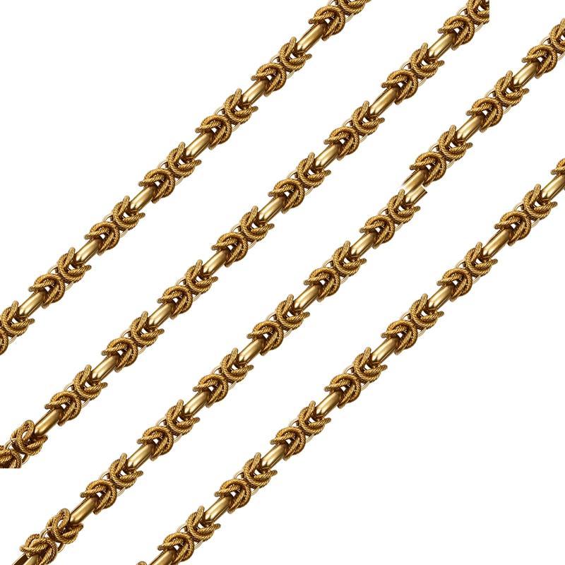 Gold chain for handbag