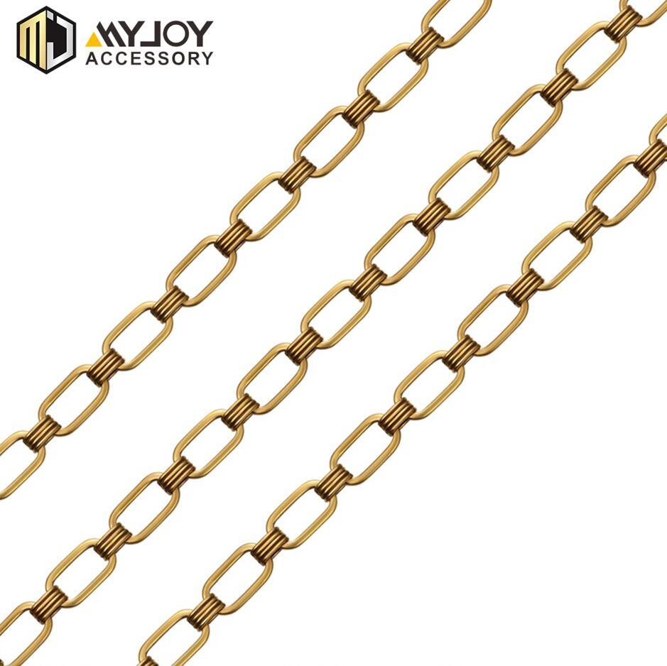 new gold chain design for men   in brass & aluminum & stainless steel material metal accessories factory