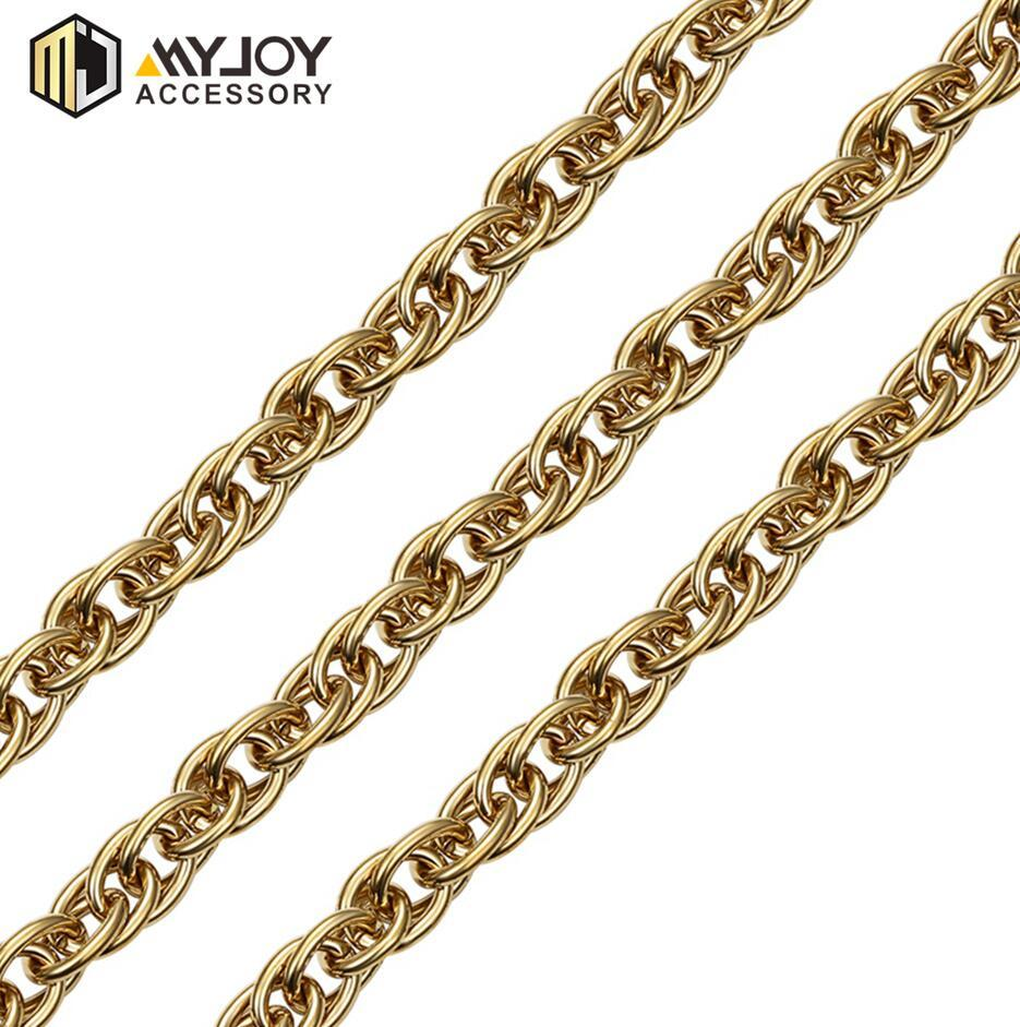 metal twist chain 20cm  in brass & aluminum & stainless steel material metal accessories factory