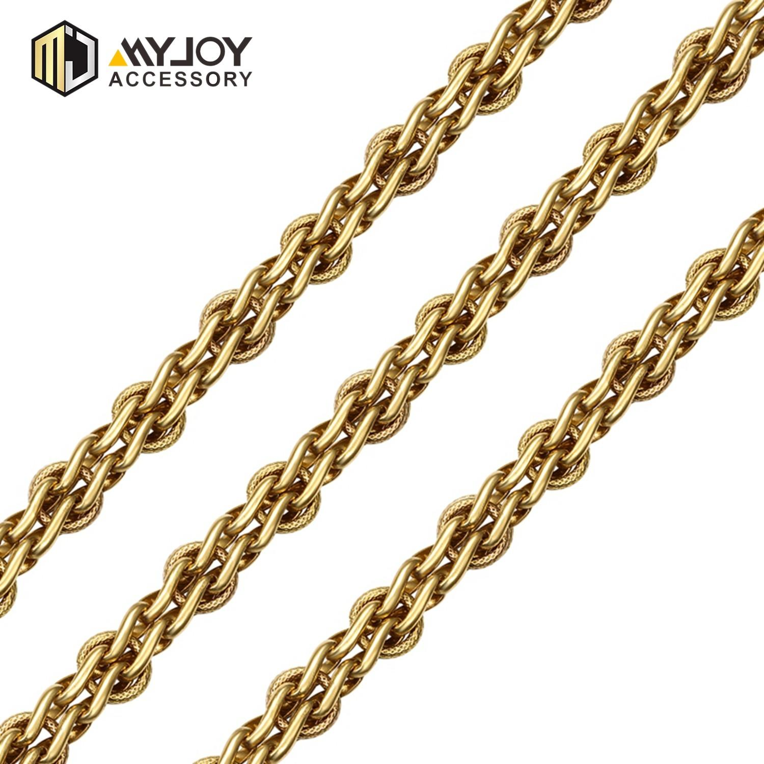 MYJOY zinc chain strap company for bags