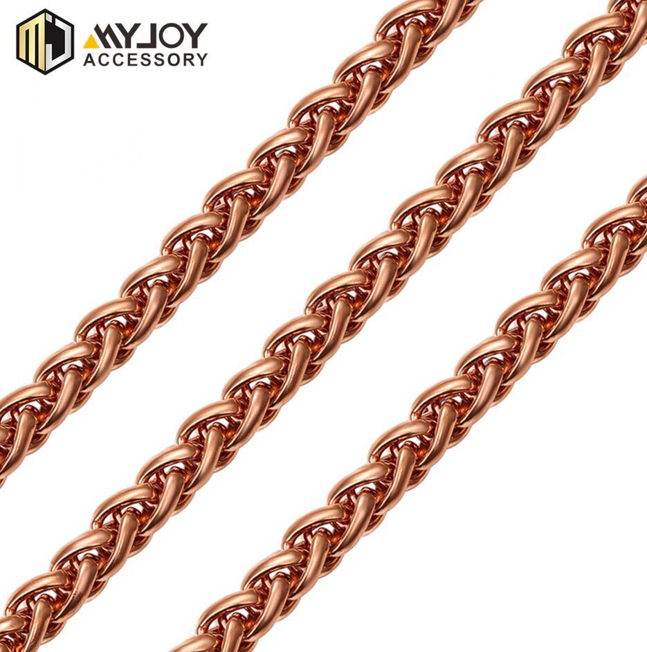 twist chain   in brass & aluminum & stainless steel material metal accessories factory