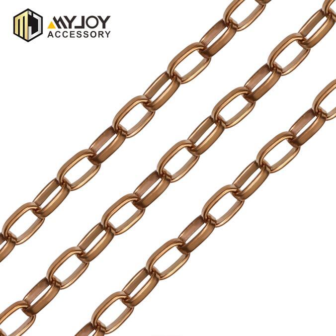 hardware  chain  manufacturer   round metal  handbag  chain MYJOY