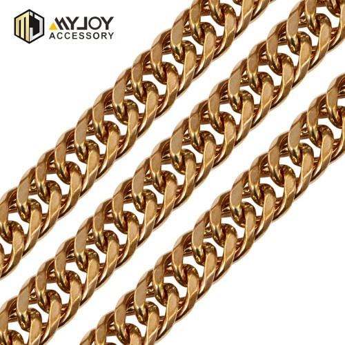 Round metal chain Myjoy  in brass material