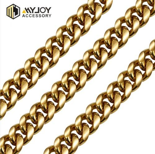 diamondcutcurbchain Myjoy in brass material