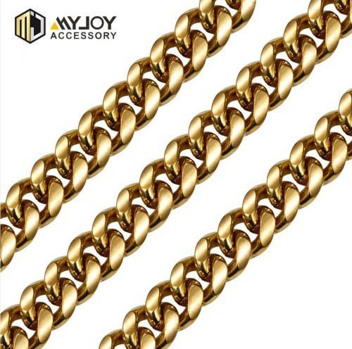 diamondcutcurbchain Myjoy in brass material
