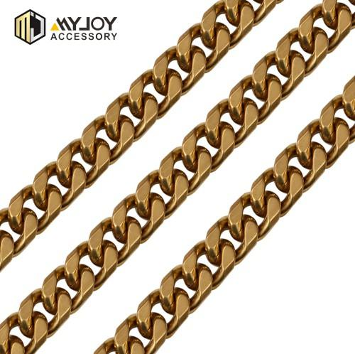 high quality metal  diamond cut curb chain