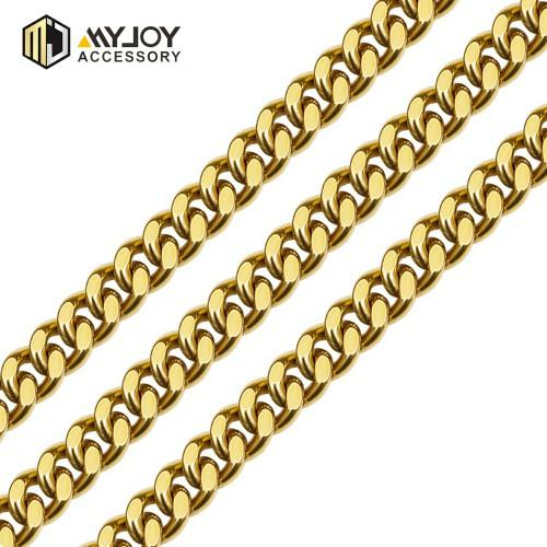 metal chain link chain in brass&aluminum  METAL  CHAIN-myjoy