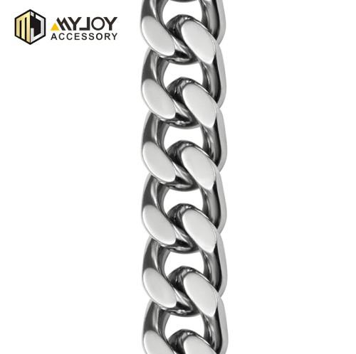 metal chain belt in brass & aluminum & stainless steel material metal acessories factory