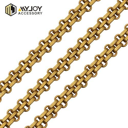 clothing metal chain  in brass & aluminum & stainless steel material metal accessories factory
