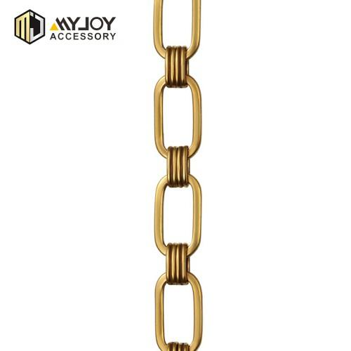 wholesale metal color bag in brass material  chain factory myjoy