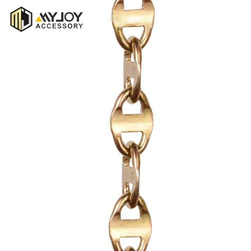 metal necklace chain   in brass & aluminum & stainless steel material metal accessories factory