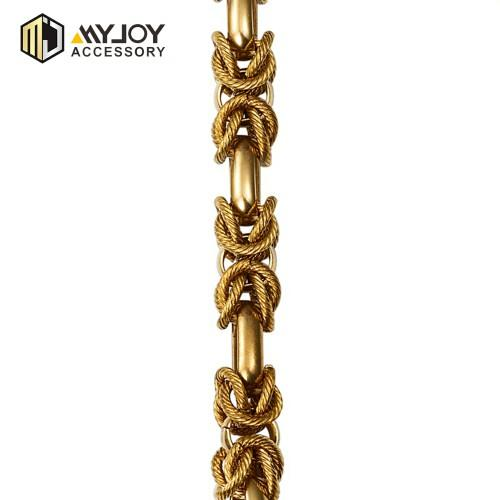 handbag metal chain handles myjoy