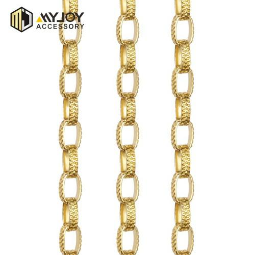 Welded Rolo Chain in brass material MYJOY
