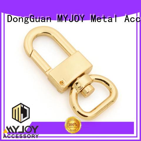 durable brass swivel hook exporter for high-end bag MYJOY