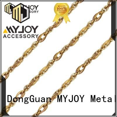 MYJOY gold handbag chain strap company for handbag