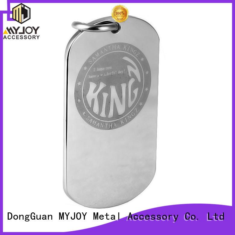 MYJOY customized handbag logo plates supply for purses
