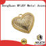 High-quality bag labels gold special shape for trader