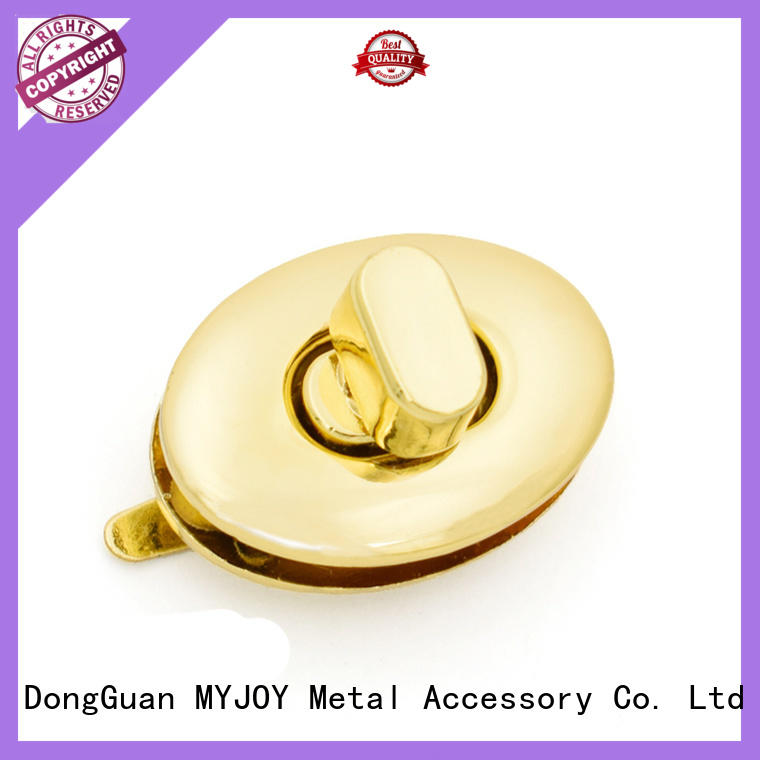 MYJOY metal handbag twist lock factory for purses