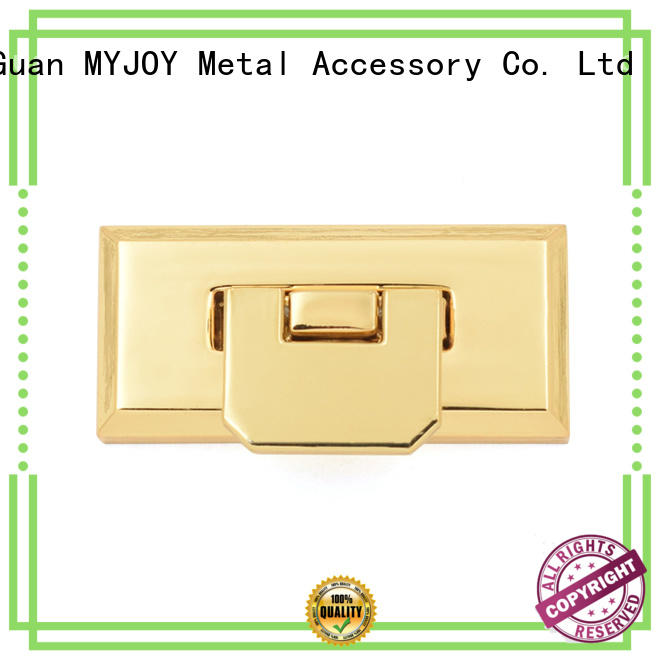 Top twist turn lock clasp trader for bags