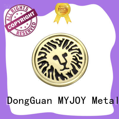 MYJOY nickle handbag logo metal plate for business for purses