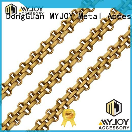 MYJOY alloy handbag strap chain manufacturers for bags