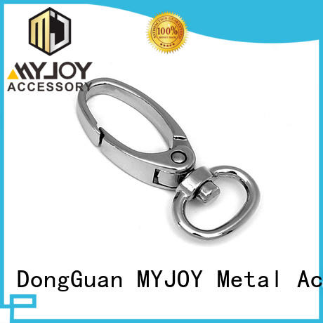 MYJOY Custom trigger snap hook manufacturers for high-end handbag