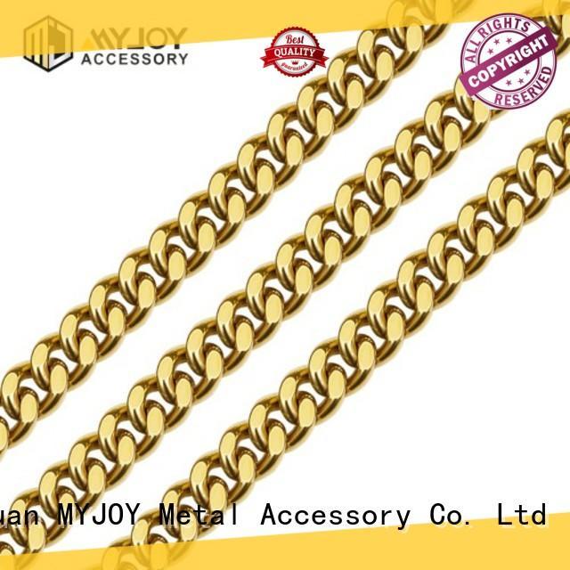 MYJOY zinc handbag strap chain for sale for bags