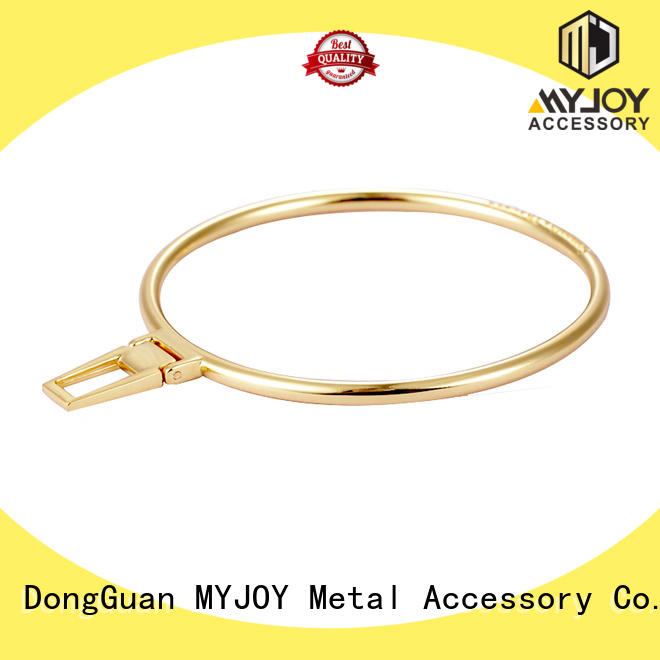 MYJOY dragonfly handbag logo metal plate provider for trader