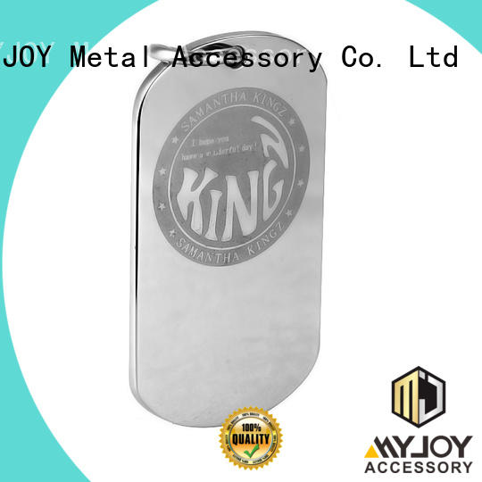 MYJOY could handbag logo metal plate manufacturers for purses