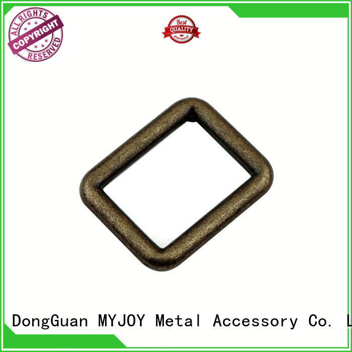 MYJOY customized ring belt buckle for business for bags