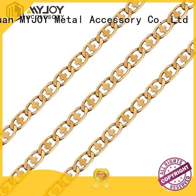 MYJOY alloy chain strap suppliers for purses