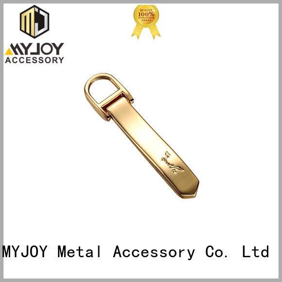 MYJOY High-quality handbag logo metal plate company for purses