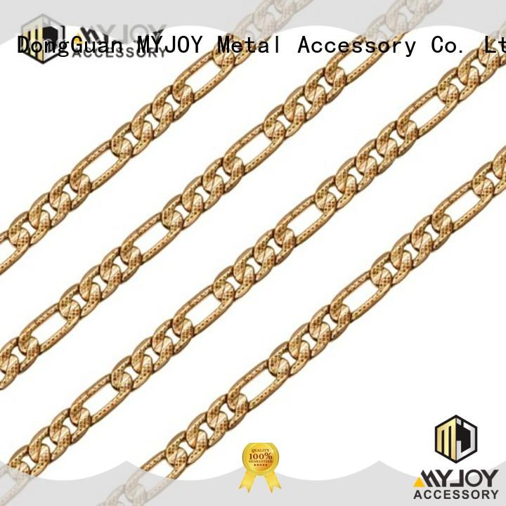 MYJOY zinc strap chain manufacturers for bags
