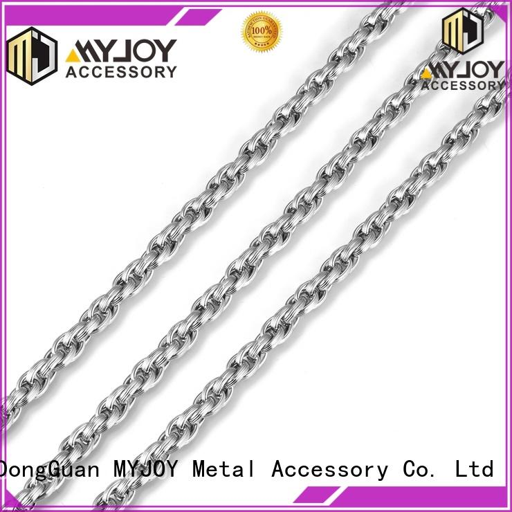MYJOY alloy handbag strap chain company for bags