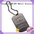 Best handbag logo plates customized special shape for trader