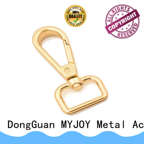 MYJOY bag swivel clips for handbags Supply for high-end bag