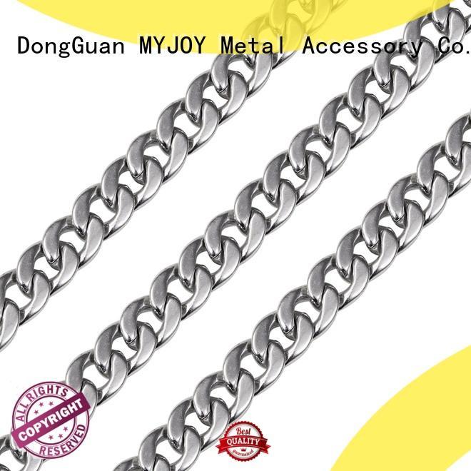 MYJOY 13mm1050mm handbag chain strap durable for purses