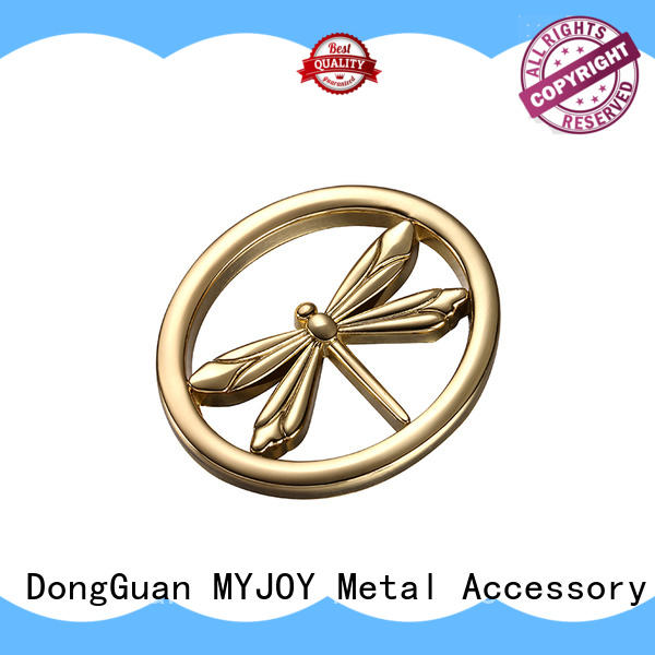 MYJOY New handbag logo plates provider for bags