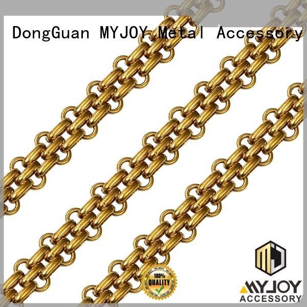 MYJOY zinc chain strap company for handbag