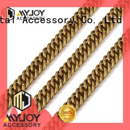 MYJOY gold handbag chain strap manufacturers for bags