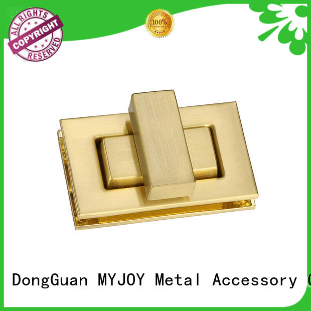 MYJOY Latest bag turn lock factory for purses